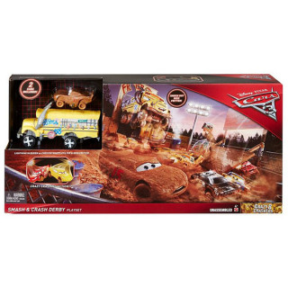 Cars 3 Smash and Crash Derby Crazy 8 Crashers DXY95