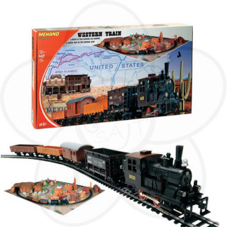 Mehano voz Western sa maketom T109