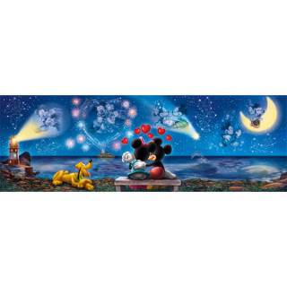 Clementoni puzzla Panorama Mickey and Minnie 1000Pcs 39449