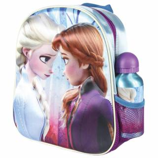 3D ranac za vrtić + flašica Frozen 2100003051