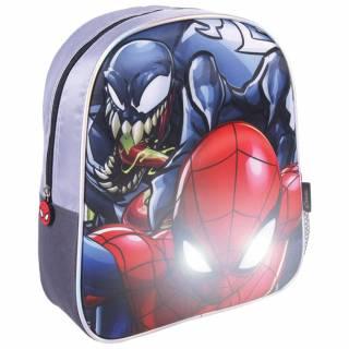 3D ranac za vrtić sa svetlima Spiderman 2100003443