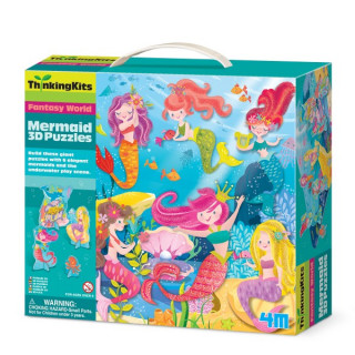 3D puzzle Mermaid 4M04719