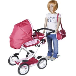 Kolica za lutke Knorr Toys buterfly 61888