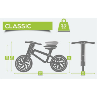 Drveni Eko Bicikl Klasik, 7931