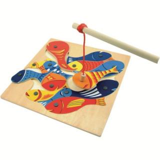 Drvena riba-magnet-pecanje 90014