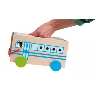 Drveni konstruktivni autobus 91179