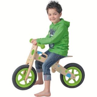 Drveni balans bicikl