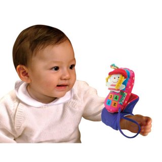 Igračka za krevetac ili kolica ružičasti Veseli trio Ks Kids, KA10581