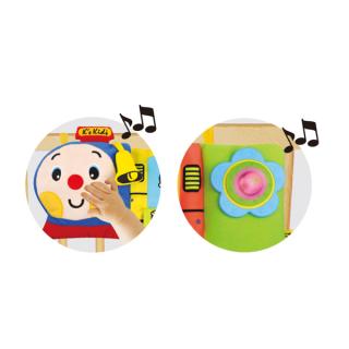 Muzički voz za krevetac Ks Kids, KA10663-GB