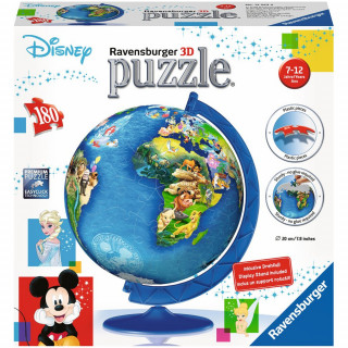 Ravensburger 3D puzzle (slagalice) - Dečija mapa sveta, RA12343