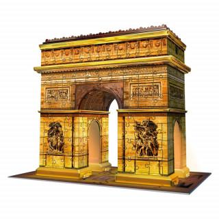 Ravensburger 3D puzzle (slagalice) - Trijumfalna kapija noć, RA12522