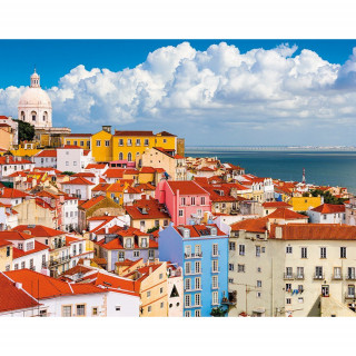 Ravensburger puzzle (slagalice) - Lisabon, RA14757