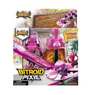 Akciona figrura Bitroid Pixie Monkart MK00062