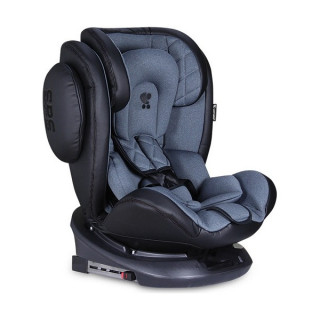 Auto sedište Aviator Isofix black dark grey (0-36kg)