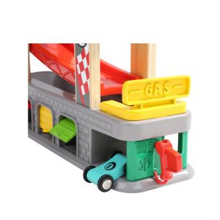 Auto tobogan sa četiri trake i garažom Top Bright 120402