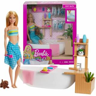 Barbie spa set u kupatilu GJN32
