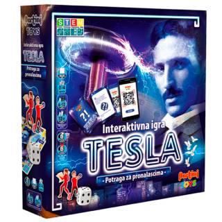 Društvena igra Tesla - Potraga za pronalascima P-0393