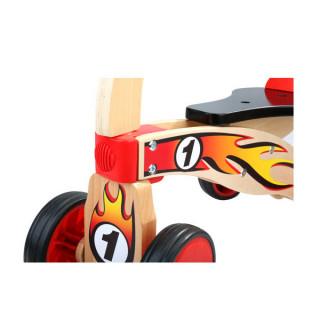 Drvena guralica bicikl sa 4 točka ToP Bright 120406