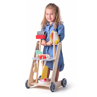 Drveni set za čišćenje 91934