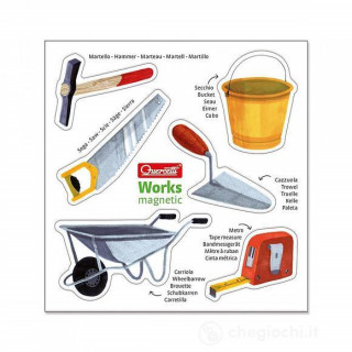 Edukativni magnet zanimanja Quercetti 0623