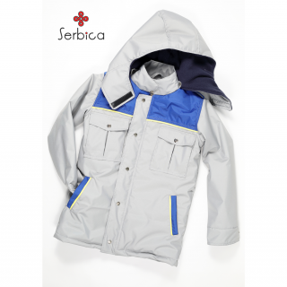 Zimska jakna za dečake sa kapuljačom, i17