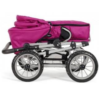 Kolica za lutke Brio - Combi- Roze BR24891314