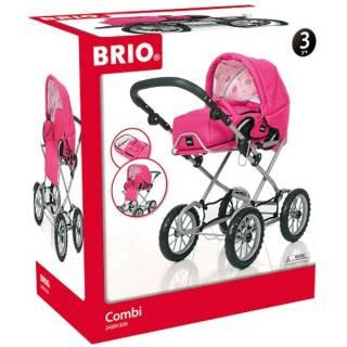 Kolica za lutke Brio - Combi- Ružičasta BR24891309