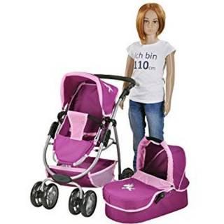 Kolica za lutke COCO Jednorog Purple 90772