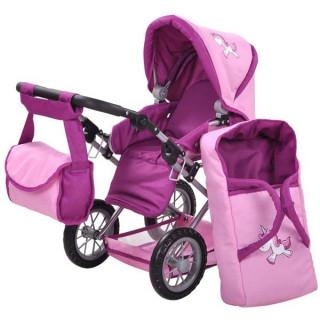 Kolica za lutke Ruby Jednorog Pink 63174