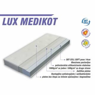Dušek za krevetac - Lux Medicot 135 x 65