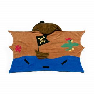 Ogrtač - peškir pirat, za plažu i kupanje-mali