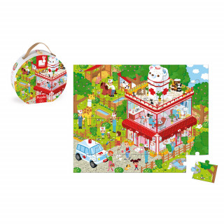 Puzzle Bolnica za životinje  J02776