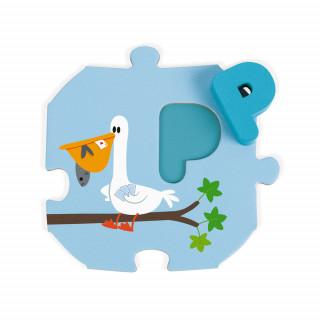 Puzzle Učimo abecedu (Engleska verzija) J02705