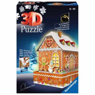 Ravensburger 3D puzzle Medena kuća RA11237