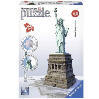 Ravensburger 3D puzzle Statua Slobode RA12584