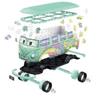 Ravensburger 3D puzzle VW bus T1 Cars RA11185