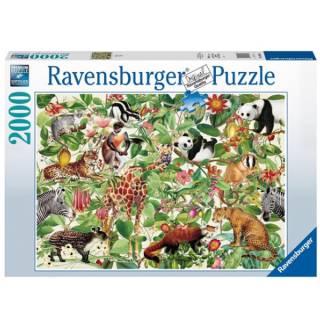 Ravensburger puzzla Džungla 2000pcs RA16824