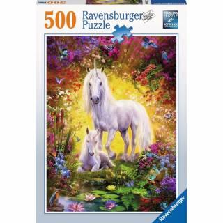 Ravensburger puzzle Jednorog i ždrebe RA14825