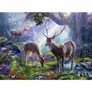Ravensburger puzzle jeleni u divljini RA14828