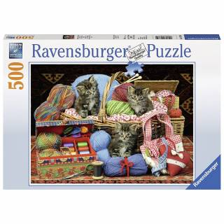 Ravensburger puzzle Mace u korpi RA14785