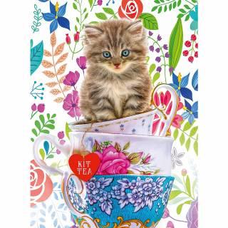 Ravensburger puzzle Mačka u šolji RA15037