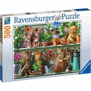 Ravensburger puzzle Mačke RA14824