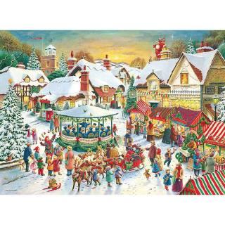 Ravensburger puzzle Novogodišnja čarolija RA15031