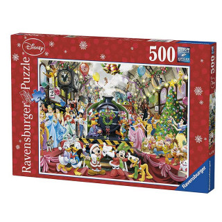 Ravensburger puzzle Novogodišnja Disney žurka