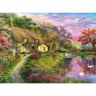 Ravensburger puzzle Seoska kuća RA15041