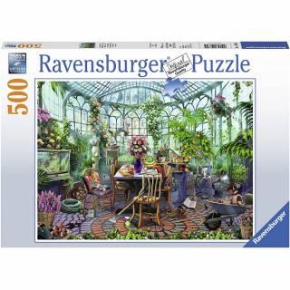 Ravensburger puzzle Staklena bašta RA14832