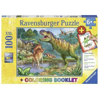 Ravensburger puzzle Život dinosaurusa RA13695