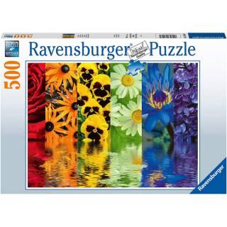 Ravensburger puzzle Refleksija cveća RA16446