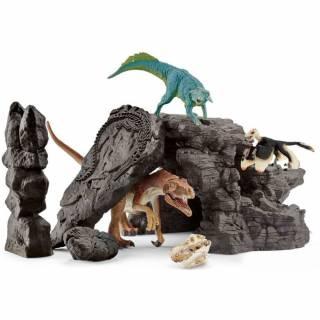 Dinosaurus set sa pećinom