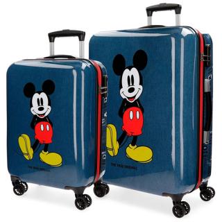 Set kofera Mickey Blue ABS 43.719.61